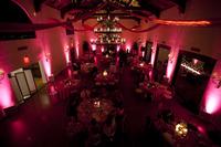Indoor Event Uplighting