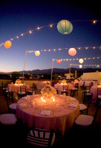Santa Barbara Outdoor String Lighting