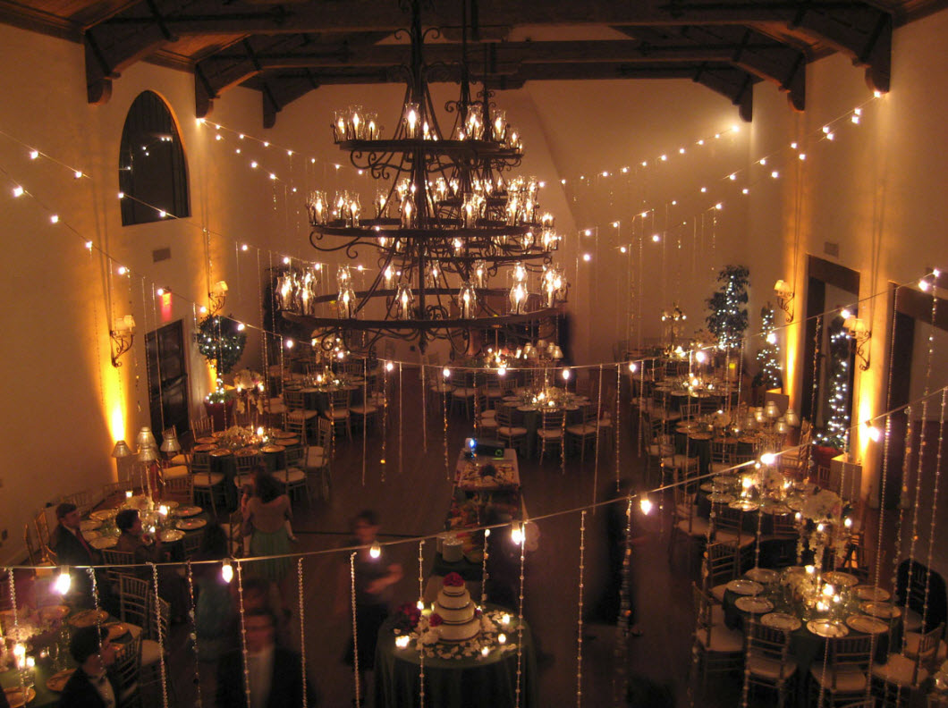 types of lighting spark creative events santa barbara