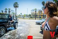Bikini Car Wash & Fights 5-31-14-13