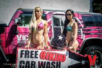 Bikini Car Wash & Fights 5-31-14-29