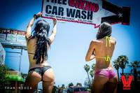 Bikini Car Wash & Fights 5-31-14-39