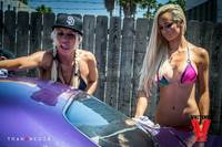 Bikini Car Wash & Fights 5-31-14-43