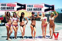Bikini Car Wash & Fights 5-31-14-54
