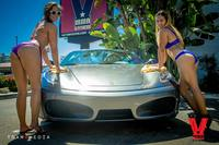 Bikini Car Wash & Fights 5-31-14-57