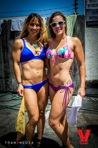 Bikini Car Wash & Fights 5-31-14-70