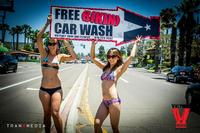 Bikini Car Wash & Fights 5-31-14-81