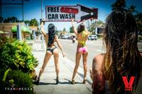 Bikini Car Wash & Fights 5-31-14-91