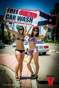 Bikini Car Wash & Fights 5-31-14-105