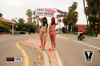 Bikini Car Wash & Fights 6-8-13-5