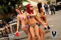 Bikini Car Wash & Fights 6-8-13-41