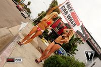 Bikini Car Wash & Fights 6-8-13-45
