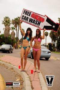 Bikini Car Wash & Fights 6-8-13-119