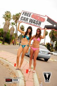 Bikini Car Wash & Fights 6-8-13-121