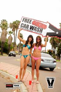 Bikini Car Wash & Fights 6-8-13-142
