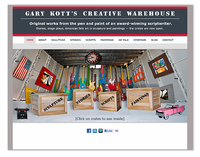 Gary Kott's Creative Warehouse Web Site