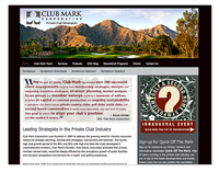 Club Mark Corporation Web Site