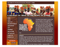 Malawi School Project Web Site