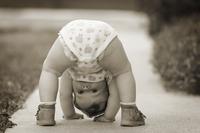 iStock Photos Open Door, Baby holding hands-100