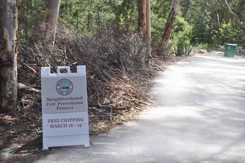 Montecito Fire Begins Annual Neighborhood Clean-up Fire Prevention Program