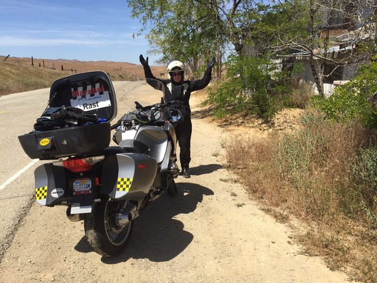30 BMW Riders Descend on Carrizo Plain-2