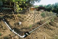 Linear leach field