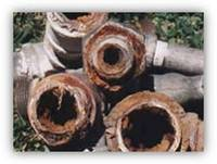 Galvanized Water Pipes