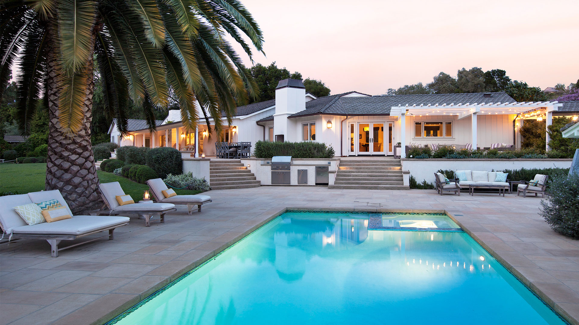 Santa Barbara Residential Contractors Pool Home