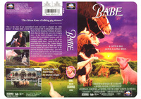 Babe - Universal Home Video - Repackage from poster design.