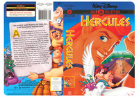 Walt Disney�s Hercules - Gold Classic Collection - The 2nd of an exploratory of 5 designs I created for Buena Vista Home Video. They produced 3 of the 5 comps and this was one of them.