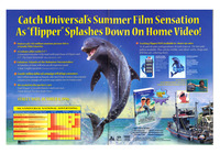 Flipper - Universal Home Video - Trade Advertising.