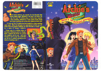 Archie�s Weird Mysteries - Archie & the Riverdale Vampires - I designed and Illustrated this, cover and back, for Universal Studios Home Video.
