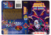 Disney�s Mighty Ducks The Movie - The First Face-Off - I designed and Illustrated this, cover for Walt Disney Home Video.