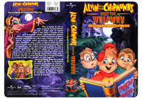 Alvin and the Chipmunks Meet The Wolfman - Universal Home Video - Create all-new package design and illustrate it. Mechanicals created in several languages.