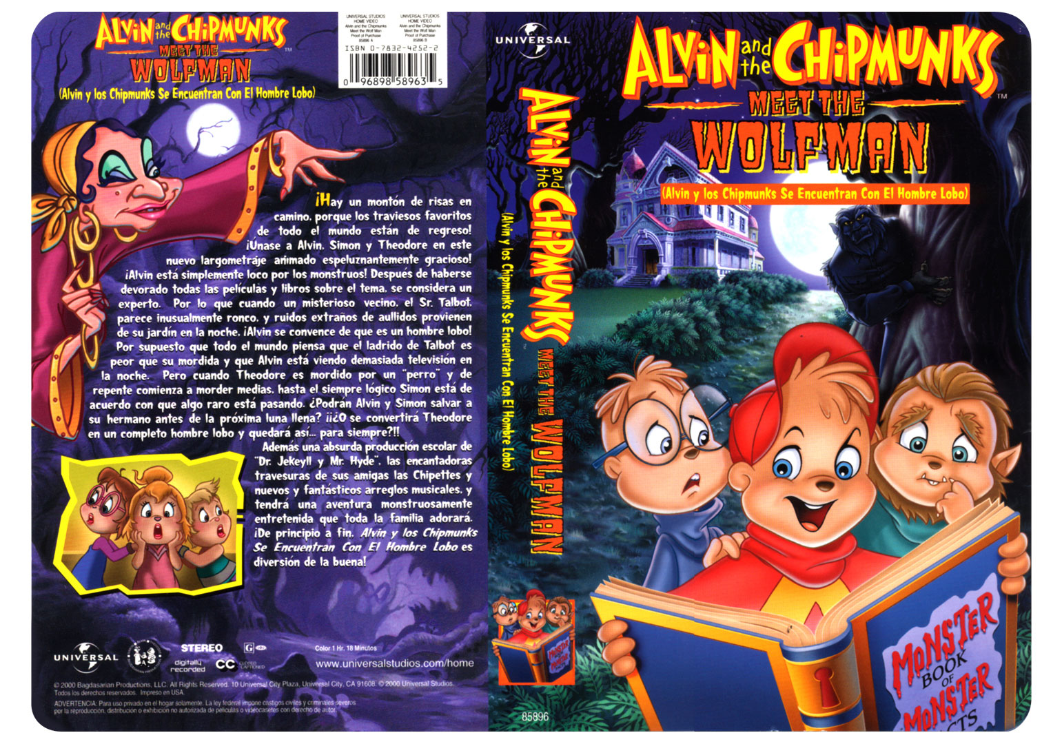 alvin and the chipmunks meet wolfman amazon