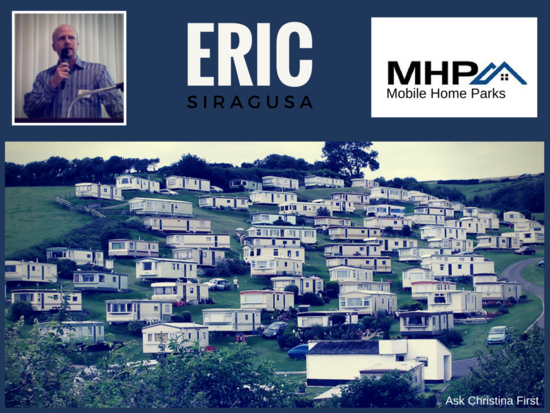 Thursday: Eric Siragusa of MHP
