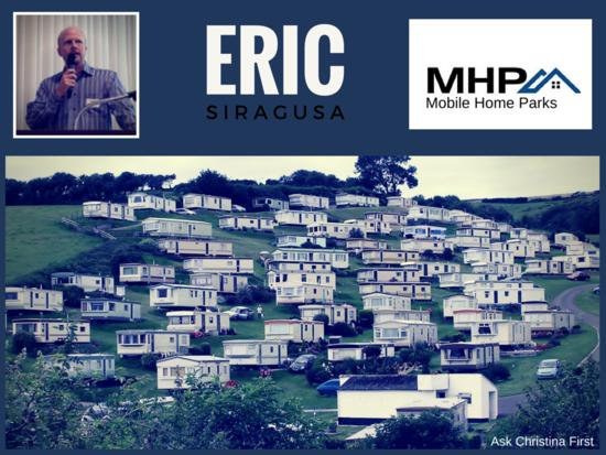 Today: Eric Siragusa MHP