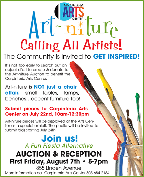 Artniture Submissions Due