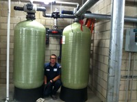 Large Commercial Water Softner