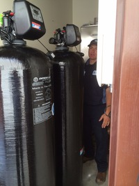 Large Commercial Water Softener