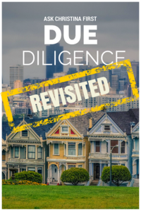 Due Diligence Revisited
