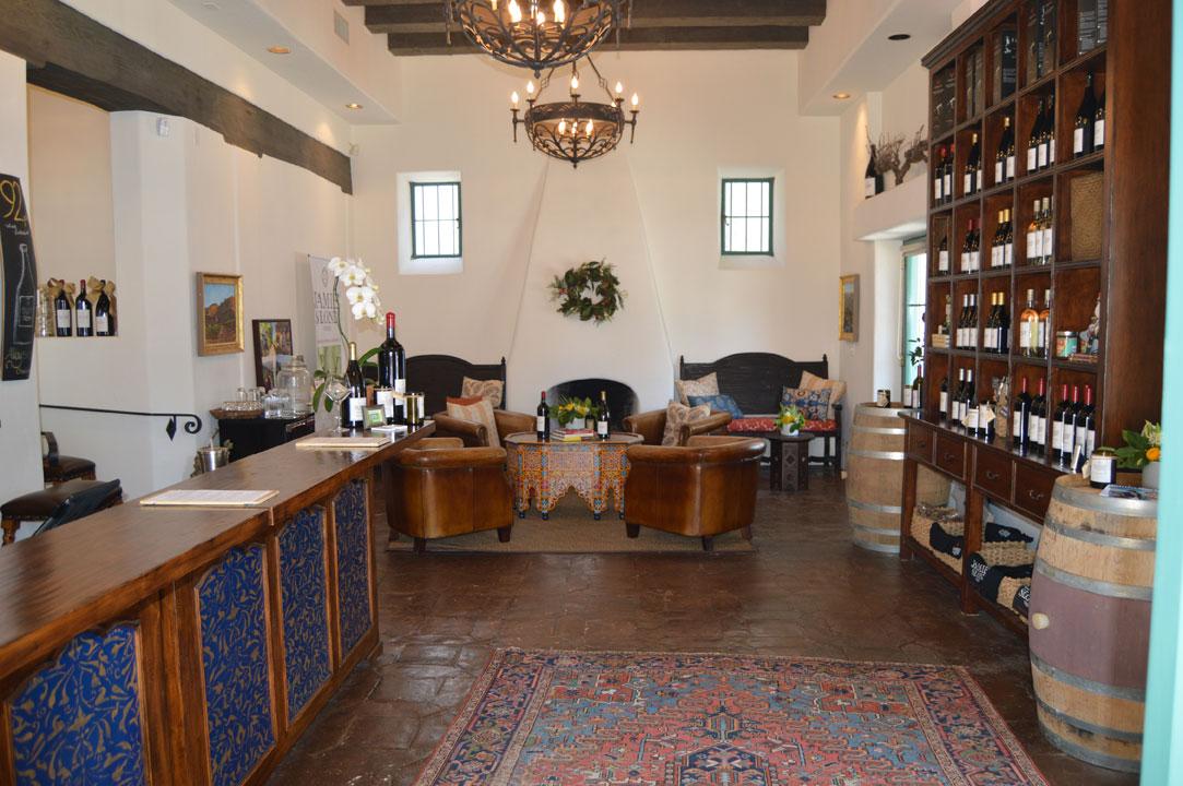 Jamie Slone Wine Tasting Room