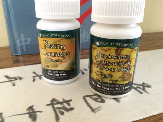 Traditional Chinese Herb Formulas help Anxiety