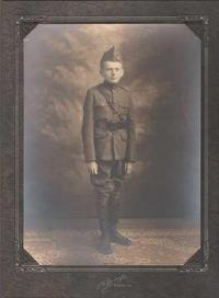 Young Roy in Military School Uniform