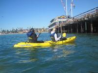 Ocean Kayaking November 2013
