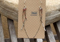 Willow Earrings, Sterling Silver
