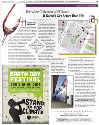 CASA Magazine: The Wine Collection of El Paseo: It Doesn't Get Better Than This