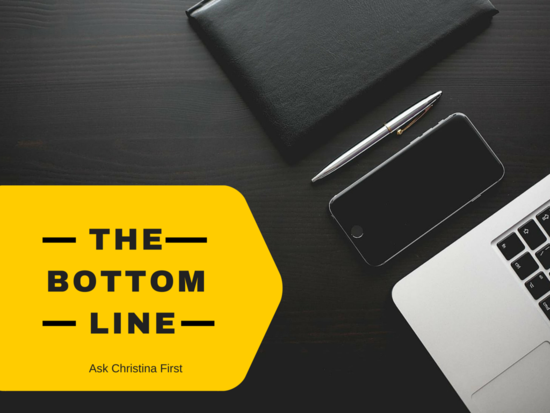Thursday: Your Bottom Line