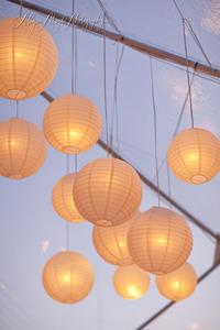 Single Drop Paper Lantern