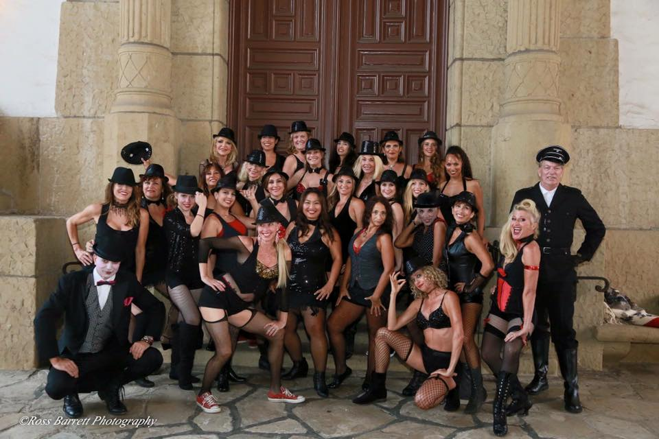 Santa Barbara La Boheme Dance Group - a Burlesque Fusion group
